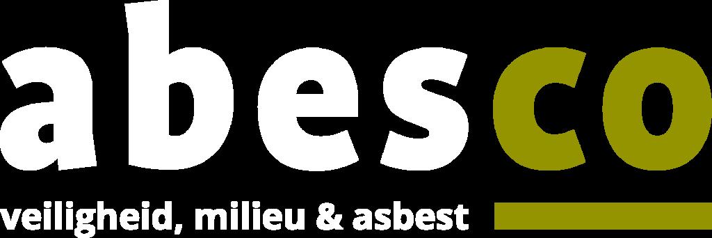 ABESCO | veiligheid, milieu & asbest | Logo negatief
